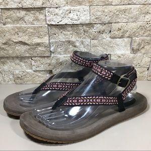 4c1871a963b6 Teva Shoes - Teva Sandals Size 8 Ankle Strap Black Brown Devi